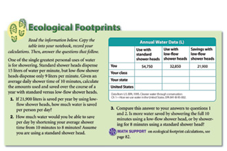 Printables Ecological Footprint Worksheet calculating carbon footprint worksheet templates and worksheets free calculator the nature conservancy