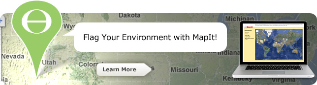 Flag Your Environment with MapIt!