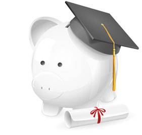 Graduated Piggy Bank