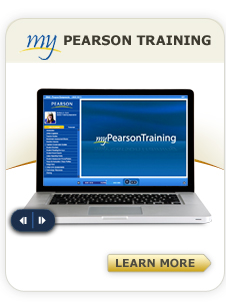 My PEarson Training left nav widget