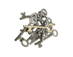 pile of keys