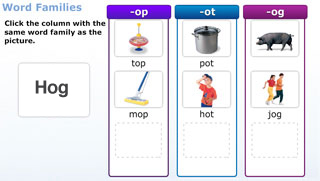Digital word study phonics activities