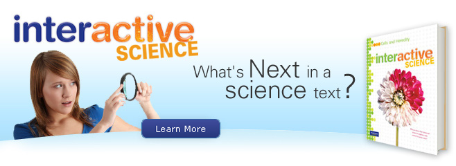 nteractive Science Banner 6-8