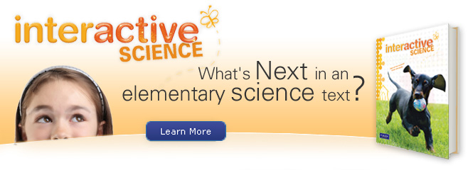 Interactive Science Banner K-5