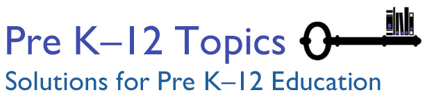 pre-k - 12 topics header