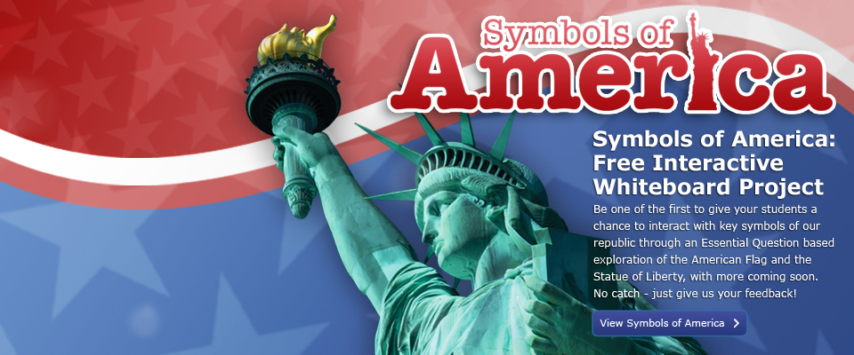 Symbols of America- Statue of Liberty: 
