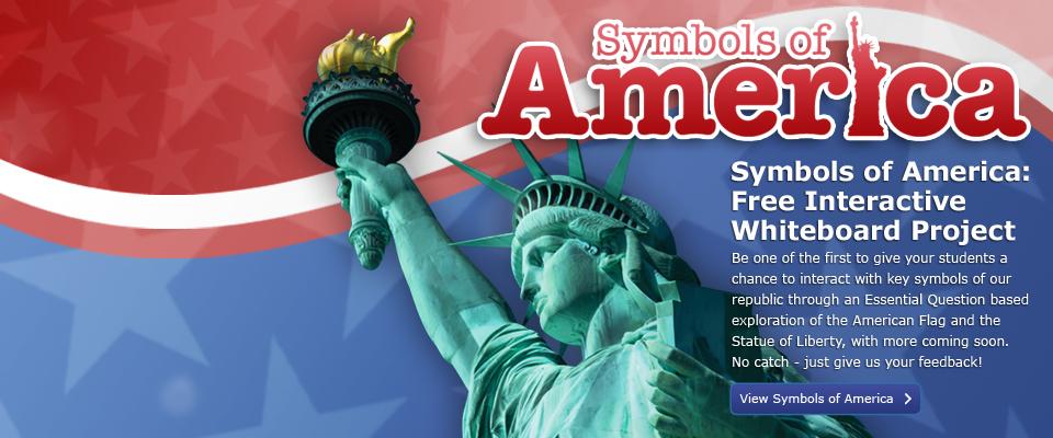 Symbols of America- Statue of Liberty: