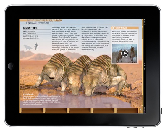 iBooks Textbook in iPad