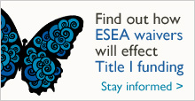 Find out how ESEA waivers will effect Title I funding.