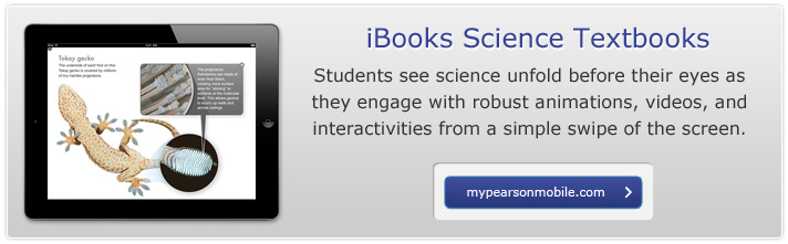 IBooks Science Textbooks