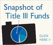 Snapshot of Title III Funds