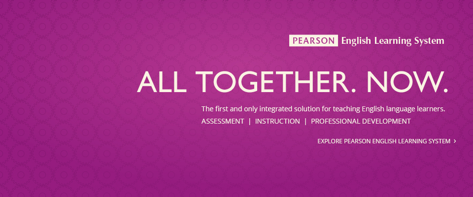 Pearson English Learning System:
