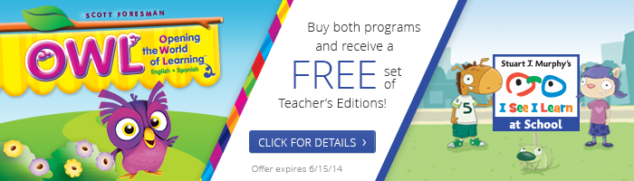 FREE Teacher's Editions!