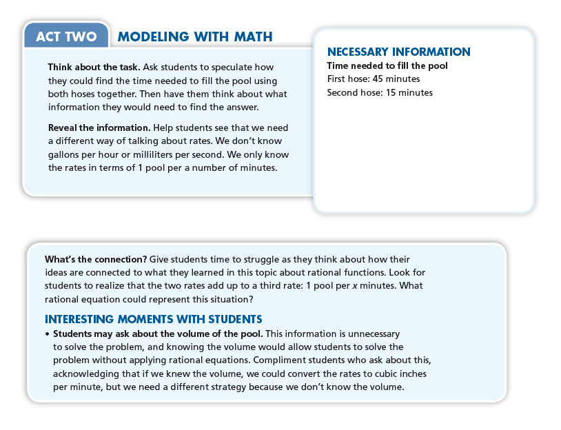 Effective math homework guidelines