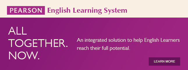 Pearson English Learning System - An Integrated solution to help english learnings reach their full potential