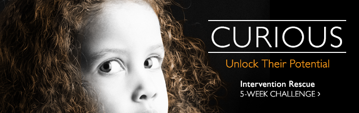 CURIOUS - Unlock Their Potential. Intervention Rescure 5-week challenge