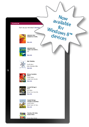 eTexts are now compatible with iPad™, Android™, and Windows 8 devices.