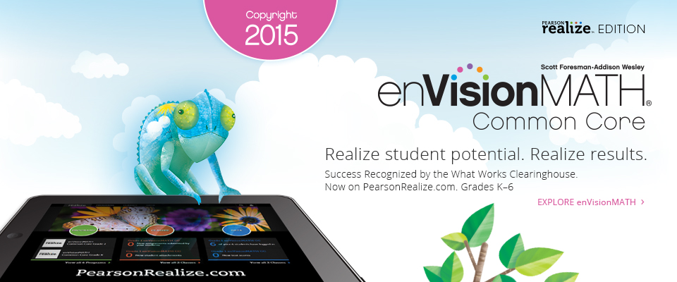 enVisionMATH Realize 2015: