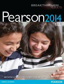 Pearson 2014 ELL Catalog