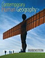 Rubenstien Contemporary Human Geography 3e