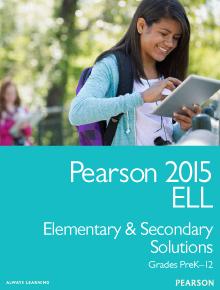 Pearson 2015 ELL Catalog