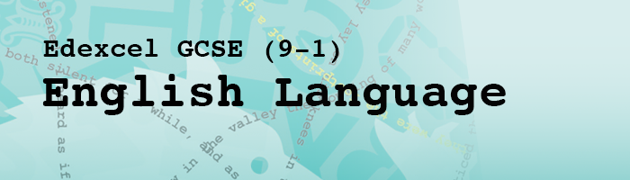 Edexcel GCSE English Language (9-1)
