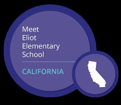 Meet Eliot Elementary School. CALIFORNIA
