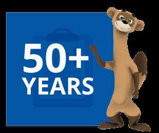 50+ Years