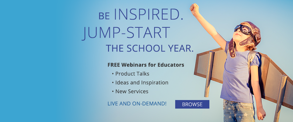 Free Webinars for Educators: