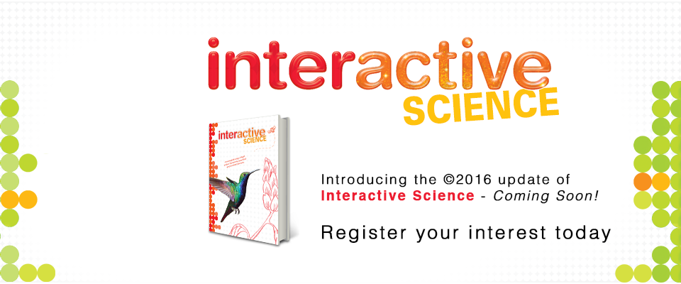 Interactive Science 2016: