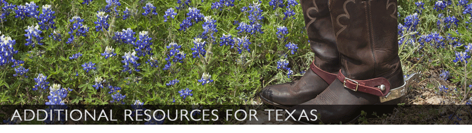 Additional Resources for Texas