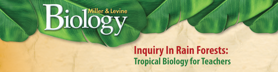 Inquiry In Rain Forests: Tropical Biology for Teachers