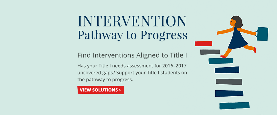 Intervention Title I :