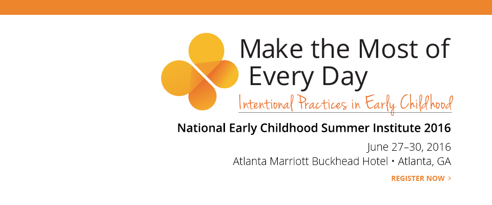 National Early Childhood Institute 2016:
