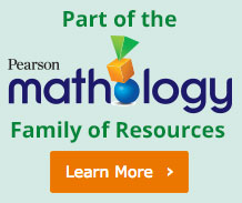 button - Pearson Mathology family of resources