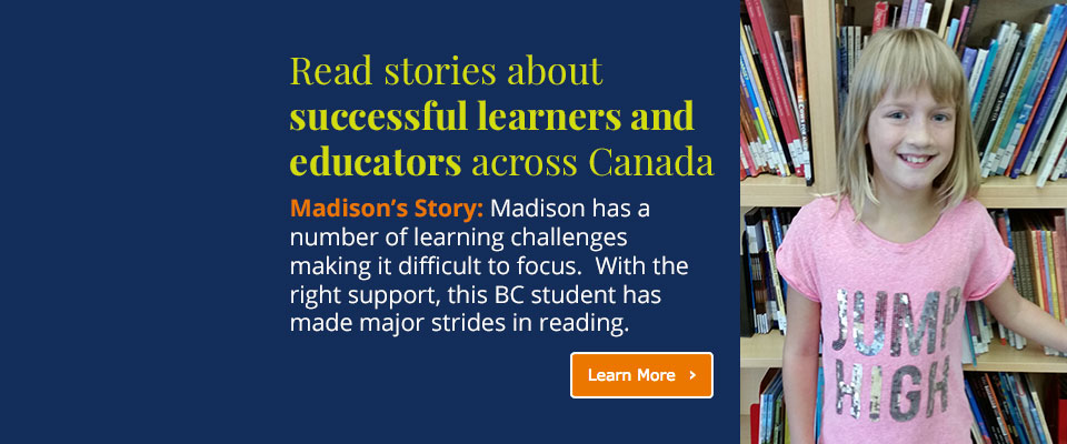 Success Stories: Read success stories of educators using Pearson Canada solutions
