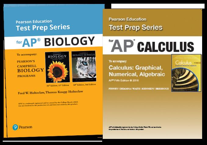 Pearson&rsquo;s Test Prep Series for AP<sup>&reg;</sup>