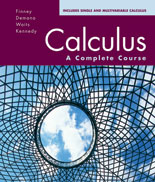 Finney, Demana, Waits, Kennedy, Calculus: A Complete Course, 3rd Edition