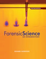 Saferstein; Forensic Science: An Introduction 2e 2011