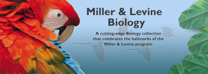 Miller and Levine Biology ©2010: A Biology Curriculum by Pearson