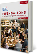 Foundations of Restaurant Management & Culinary Arts CSPS 1YR 1E 2010