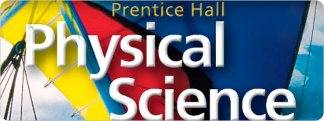 Physical science textbook prentice hall physical science