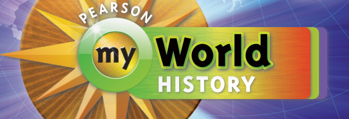 myWorld History: A World History Curriculum by Pearson