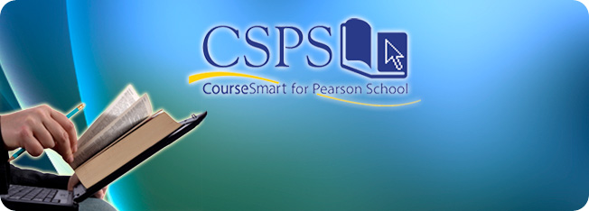 CourseSmart for Pearson School