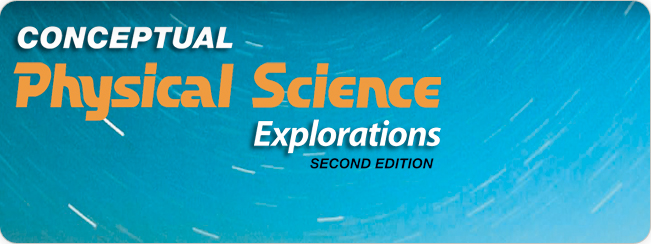 Hewitt, Suchocki, Hewitt, Conceptual Physical Science Explorations, 2nd Edition ©2010