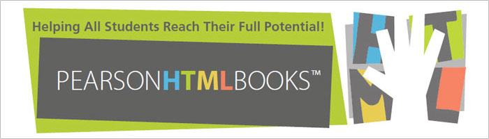 Pearson HTMLbooks™