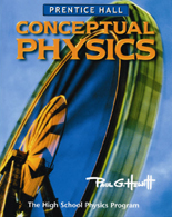 Conceptual Physics by Paul G. Hewitt and Prentice Hall - 2006 edition