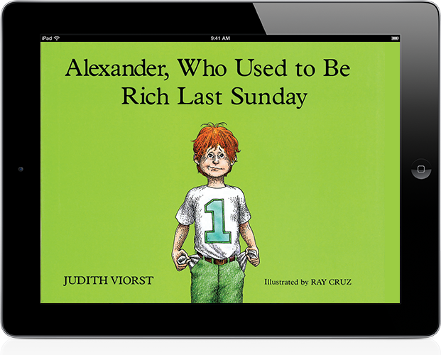 Trade book: Alexander Who Used to be Rich Last Sunday