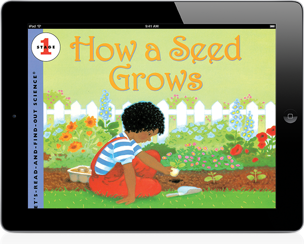 Trade book: How a Seed Grows