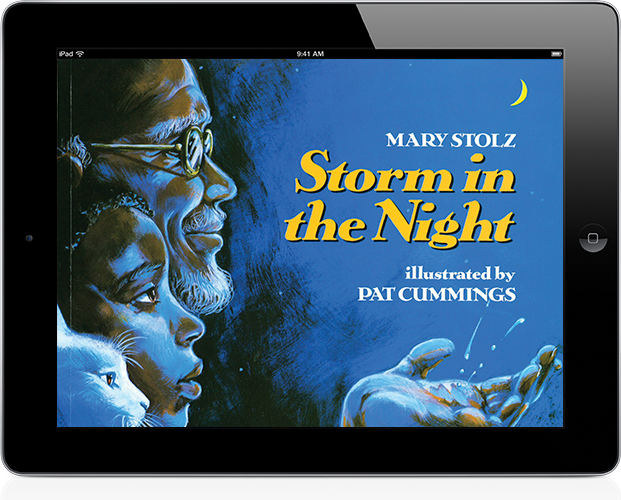 Trade book: Storm in the Night